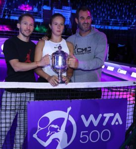 tenis WTA Barcelona CMC Kasatkina Carlos Martinez